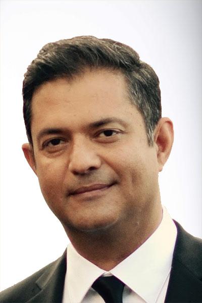 Anil Madhok portrait